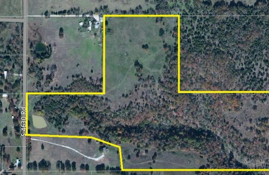 45 Acres on South 4630 Road