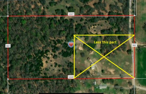 15 Acres on South 4640 Road